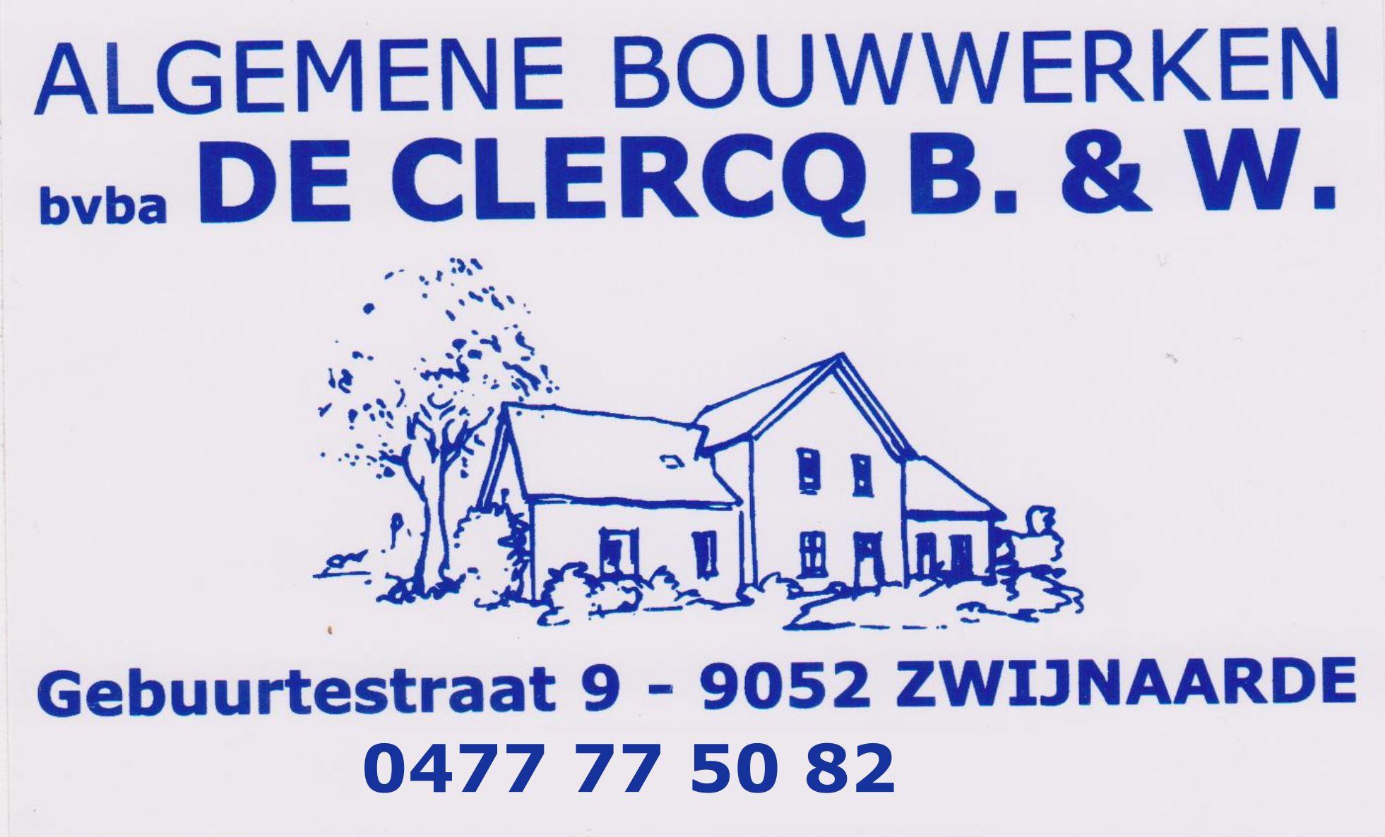 Algemene bouwwerken Benny De Clercq